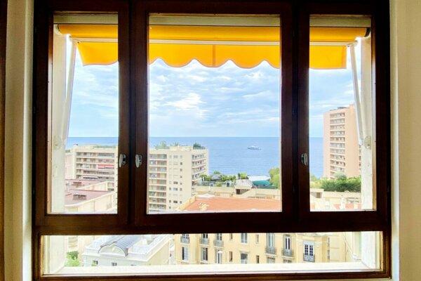 MONACO LA ROUSSE ABEILLES 3 ROOMS PANORAMIC VIEW